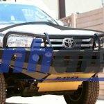 Lắp ốp bảo vệ cản trước ô tô có vi phạm luật giao thông